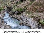 beautiful rivers between... | Shutterstock . vector #1235959906