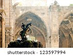 Saint George Statue In The...