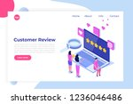 customer review  usability...   Shutterstock .eps vector #1236046486