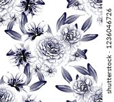 abstract elegance seamless... | Shutterstock . vector #1236046726