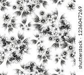abstract elegance seamless... | Shutterstock . vector #1236047269