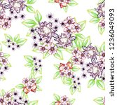 abstract seamless pattern with... | Shutterstock . vector #1236049093