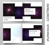vector layout of two covers...   Shutterstock .eps vector #1236078640