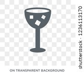 refreshing cold drink icon.... | Shutterstock .eps vector #1236113170
