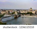budapest st stephen's basilica... | Shutterstock . vector #1236115210