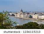 hungarian parliament view from... | Shutterstock . vector #1236115213