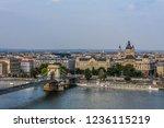 budapest st stephen's basilica... | Shutterstock . vector #1236115219