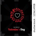 valentine's day cards 8 | Shutterstock .eps vector #123614908