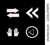 guidance icon. guidance vector... | Shutterstock .eps vector #1236154693
