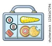 restaurant lunch icon. cartoon...