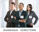 participants of the conference... | Shutterstock . vector #1236171346