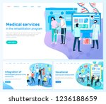 medical services ... | Shutterstock .eps vector #1236188659