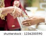 thai wedding ceremony   Shutterstock . vector #1236200590