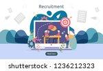 online recruitment or job...   Shutterstock .eps vector #1236212323