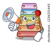 with megaphone xylophone... | Shutterstock .eps vector #1236231643
