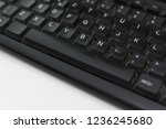 old keyboard computer used | Shutterstock . vector #1236245680
