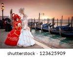 Sunrise In Venice Italy In...