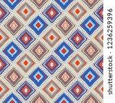 ethnic seamless pattern. tribal ... | Shutterstock .eps vector #1236259396