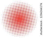 abstract halftone design... | Shutterstock .eps vector #1236266176