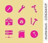 hardware icon. hardware vector... | Shutterstock .eps vector #1236266419