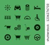 wheel icon. wheel vector icons... | Shutterstock .eps vector #1236276733