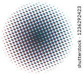 abstract halftone design... | Shutterstock .eps vector #1236292423