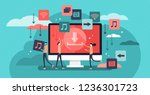 free download vector... | Shutterstock .eps vector #1236301723