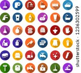 color back flat icon set   baby ... | Shutterstock .eps vector #1236302599