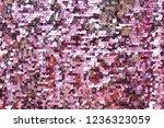 sequins close up macro.... | Shutterstock . vector #1236323059