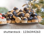 pastries and sweets for the...   Shutterstock . vector #1236344263