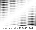 dots background. fade texture.... | Shutterstock .eps vector #1236351169