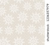 this is a winter seamless... | Shutterstock .eps vector #1236357979
