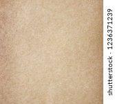 grunge paper texture for... | Shutterstock . vector #1236371239