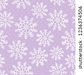 this is a winter seamless... | Shutterstock .eps vector #1236374506