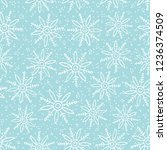 this is a winter seamless... | Shutterstock .eps vector #1236374509