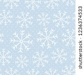this is a winter seamless... | Shutterstock .eps vector #1236374533