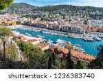 nice  france   october 5  2018  ... | Shutterstock . vector #1236383740