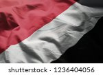 principality of sealand flag... | Shutterstock . vector #1236404056