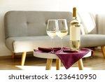 Vintage Bottle Of White Wine...