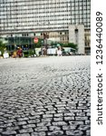 historic stone cobble in the... | Shutterstock . vector #1236440089