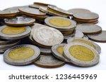 Coin Money Thailand Isolated On ...