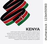 kenya flag for decorative... | Shutterstock .eps vector #1236450583