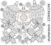 coloring pages. coloring book... | Shutterstock .eps vector #1236461146