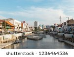 jakarta  indonesia   october 7  ... | Shutterstock . vector #1236464536
