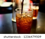 refreshing drinks in the glass | Shutterstock . vector #1236479509