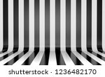 black and white vertical lines... | Shutterstock . vector #1236482170