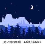 abstract background with... | Shutterstock .eps vector #1236483289