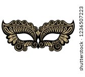 beautiful black and gold...   Shutterstock .eps vector #1236507223