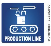 production line | Shutterstock .eps vector #123652990