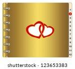 Icon Calendar Or Wedding Album...